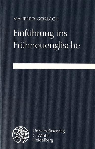 Einführung ins Frühneuenglische als Buch