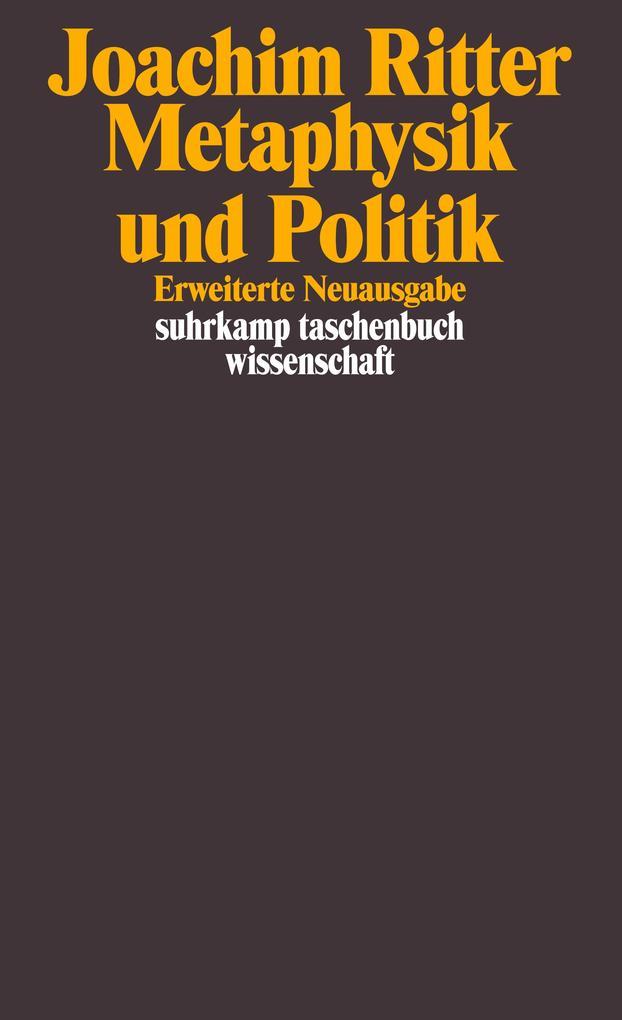 Metaphysik und Politik als Taschenbuch