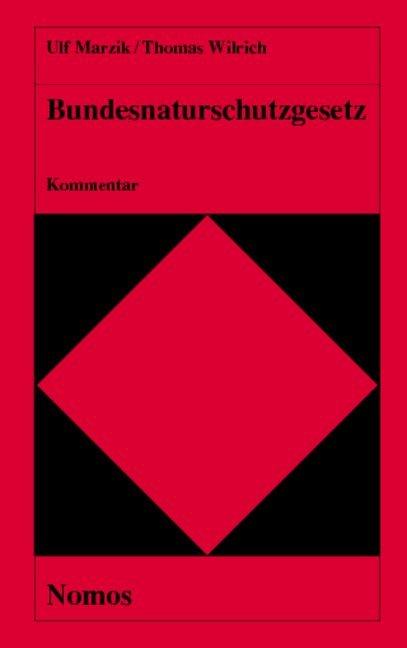 Bundesnaturschutzgesetz. Kommentar als Buch