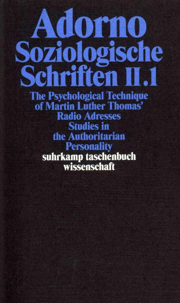 Soziologische Schriften 2 als Taschenbuch