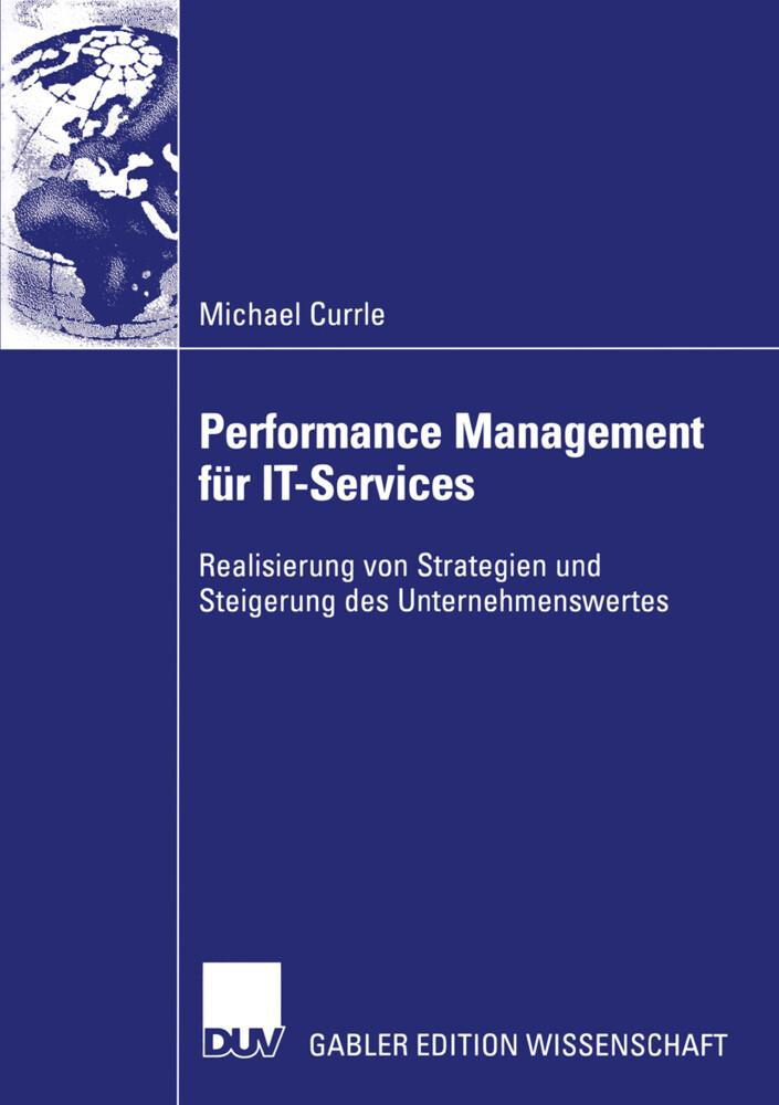 Performance Management für IT-Services als Buch