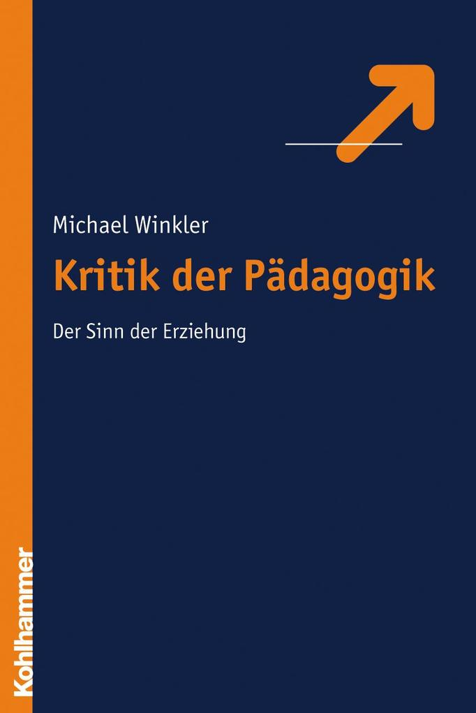 Kritik der Pädagogik als Buch