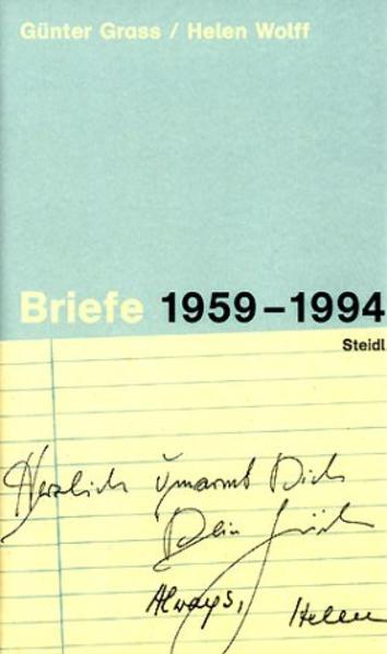 Briefe 1959-1994 als Buch