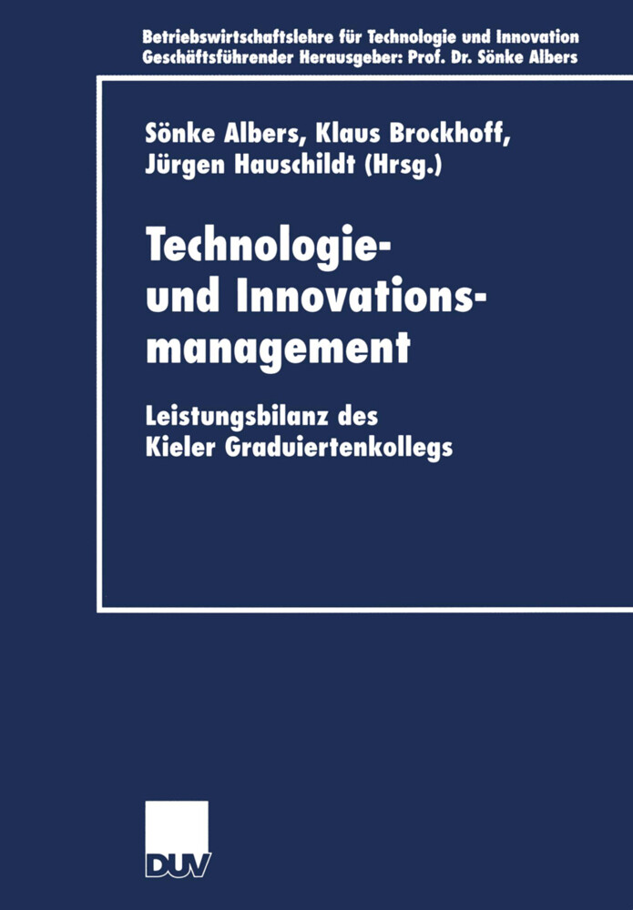 Technologie- und Innovationsmanagement als Buch