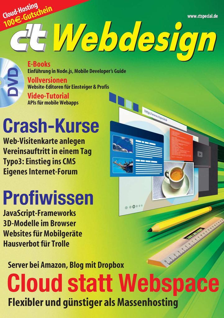 c´t Webdesign 2013 als eBook Download von c´t-R...