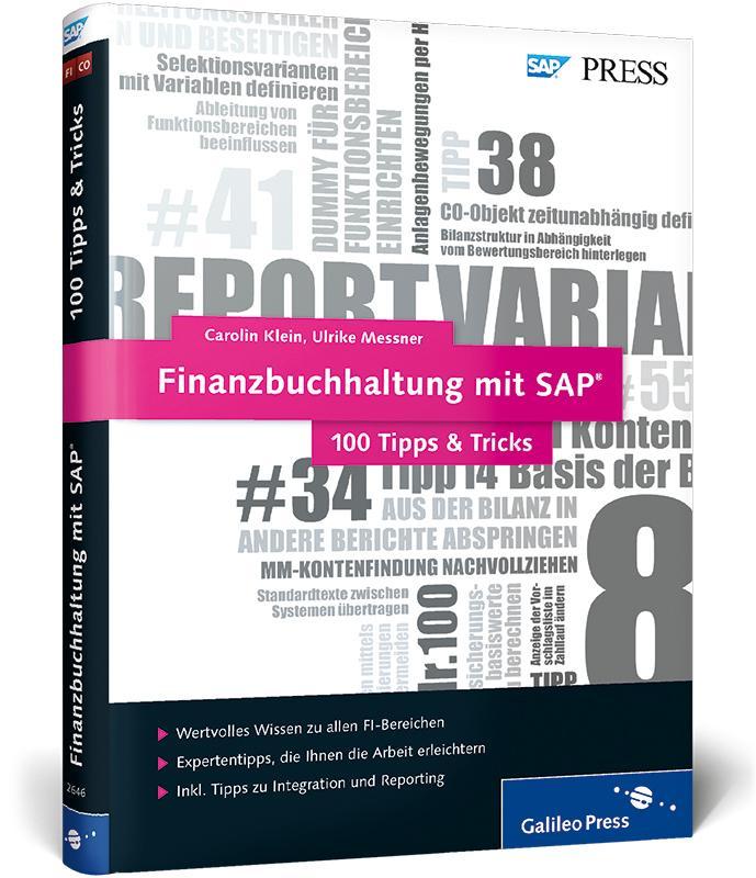 Finanzbuchhaltung mit SAP - 100 Tipps & Tricks ...