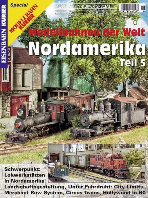 Modellbahn-Kurier Special 16. Modellbahnen der ...