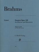 Sonaten op. 120 für Klavier und Klarinette
