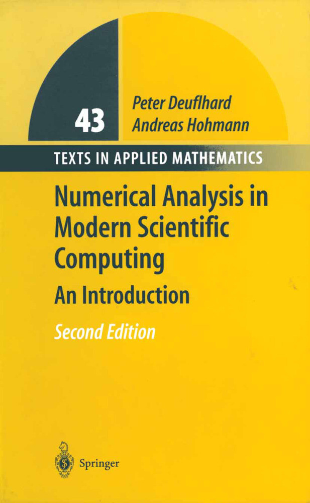 Numerical Analysis in Modern Scientific Computing als Buch