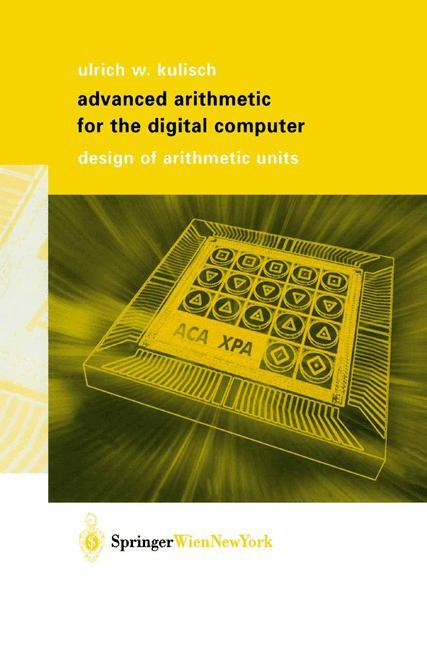Advanced Arithmetic for the Digital Computer als Buch