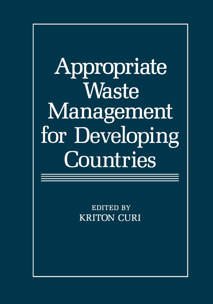 Appropriate Waste Management for Developing Cou...