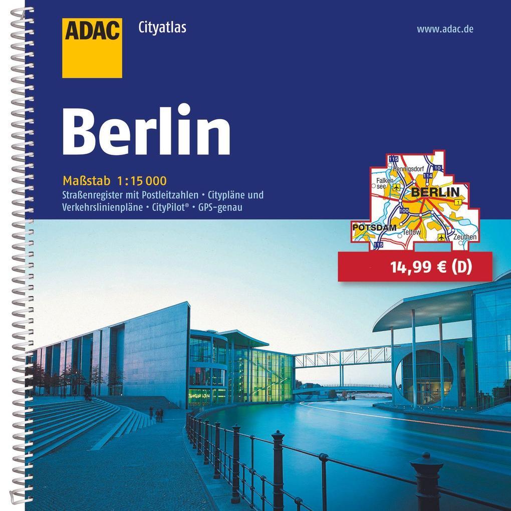 ADAC CityAtlas Berlin 1 : 15 000 als Buch von