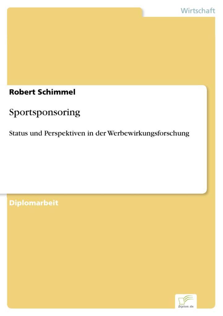 Sportsponsoring als eBook Download von Robert S...