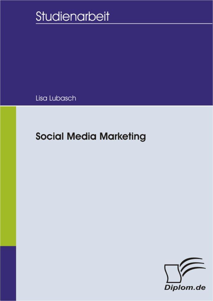 Social Media Marketing als eBook Download von L...