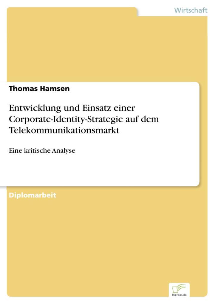 Entwicklung und Einsatz einer Corporate-Identit...