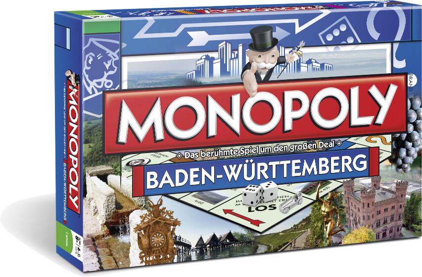 Winning Moves - Monopoly Baden-Württemberg