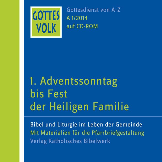 Gottes Volk LJ A1/2014 CD-ROM