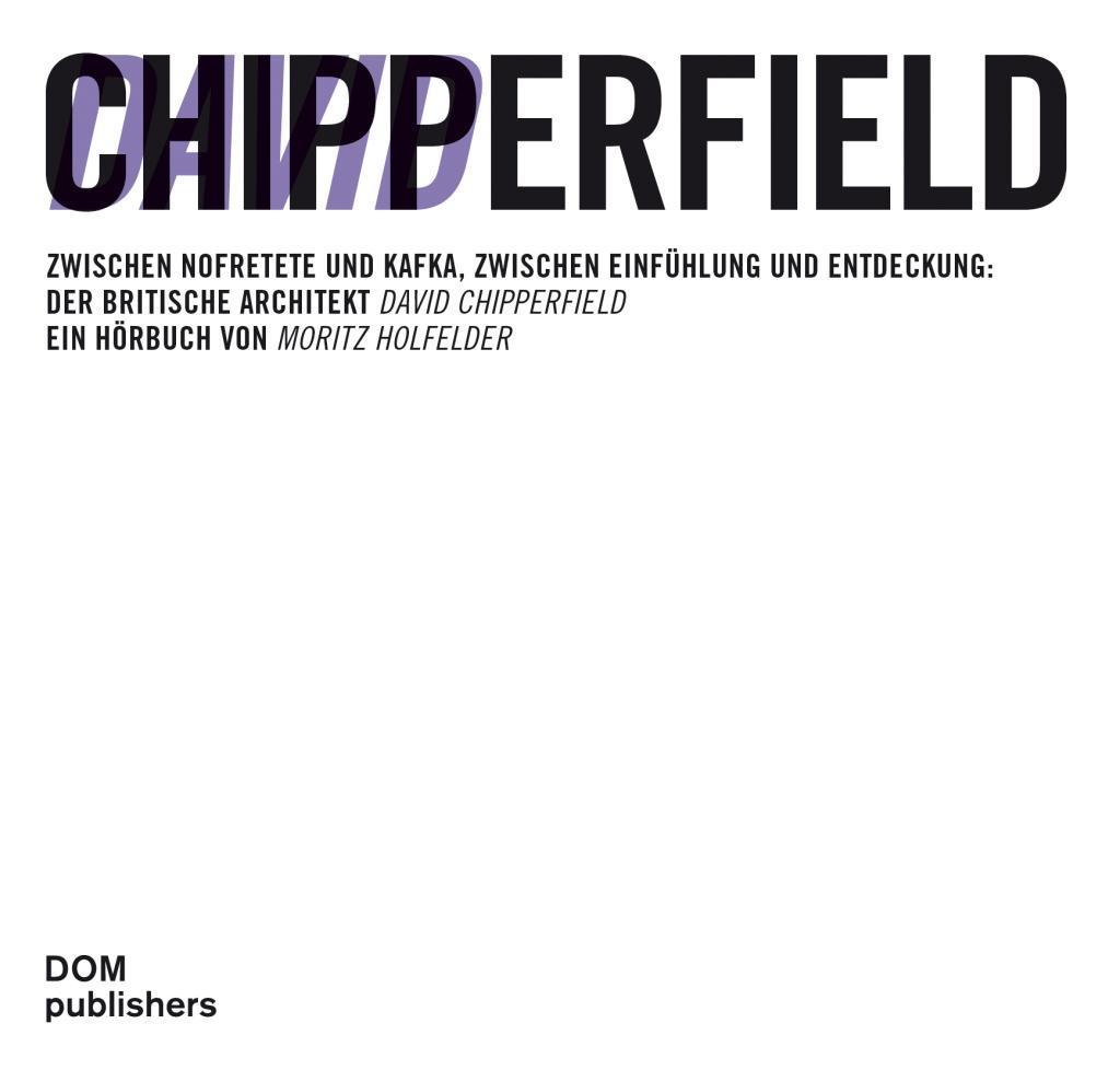 David Chipperfield als Hörbuch CD von Moritz Ho...