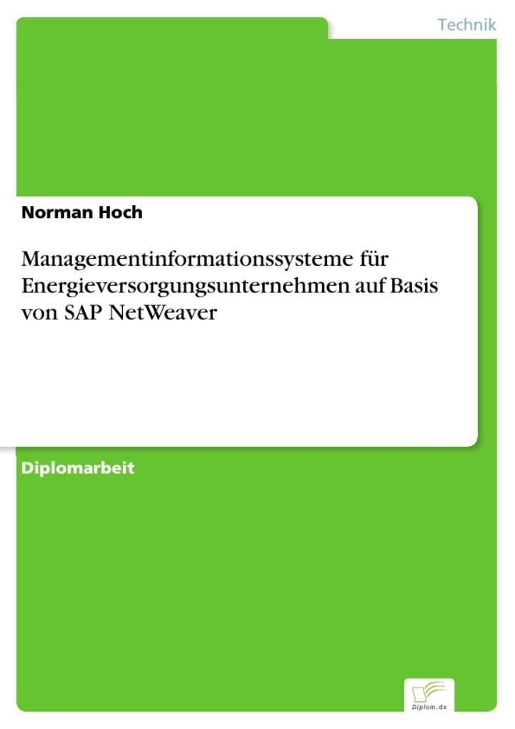 Managementinformationssysteme für Energieversor...