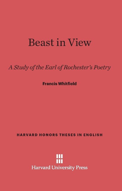 Beast in View als Buch von Francis Whitfield