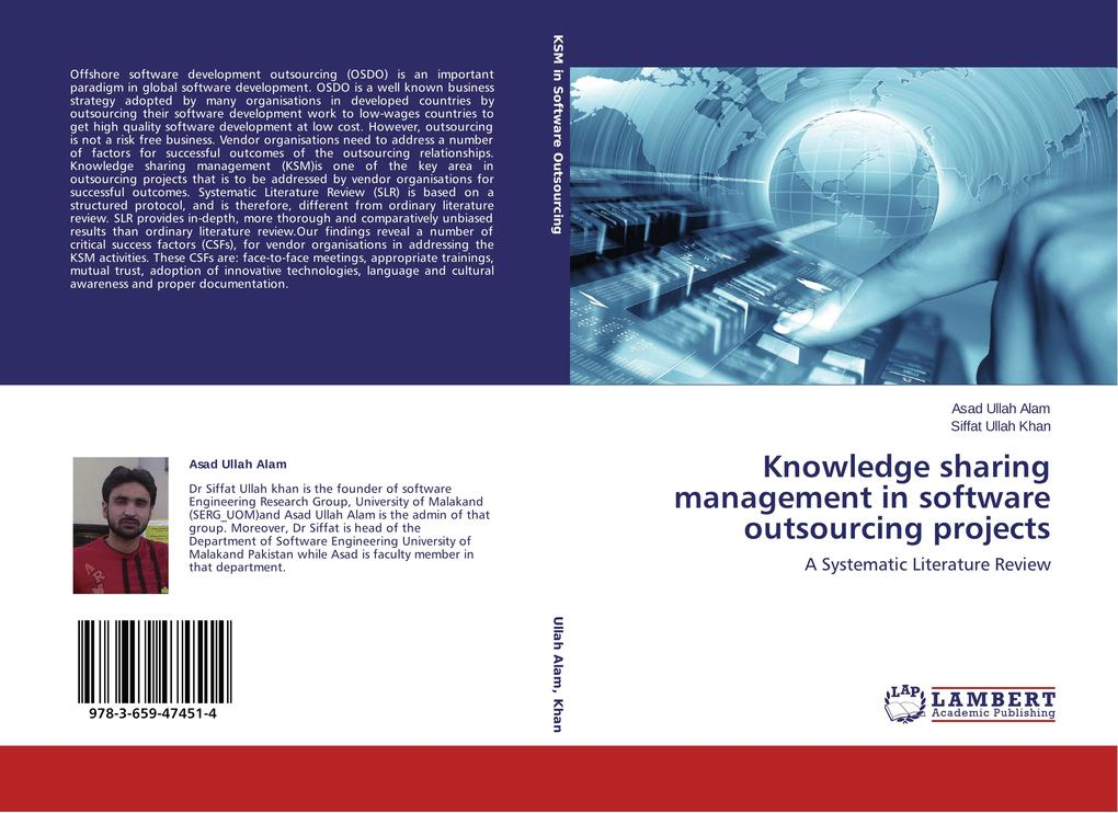Knowledge sharing management in software outsou...