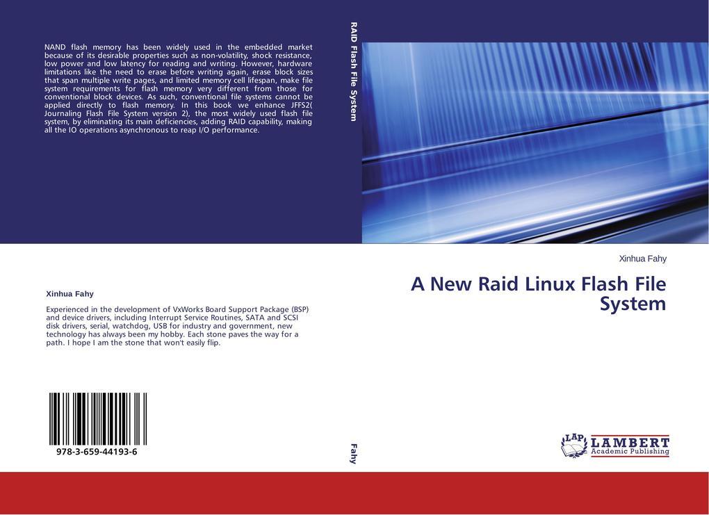 A New Raid Linux Flash File System als Buch von...