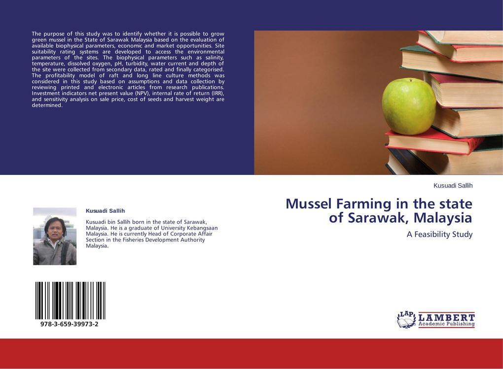 Mussel Farming in the state of Sarawak, Malaysi...
