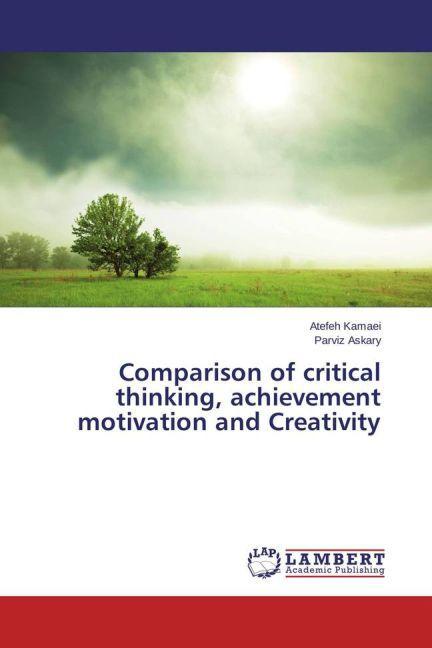 Comparison of critical thinking, achievement mo...