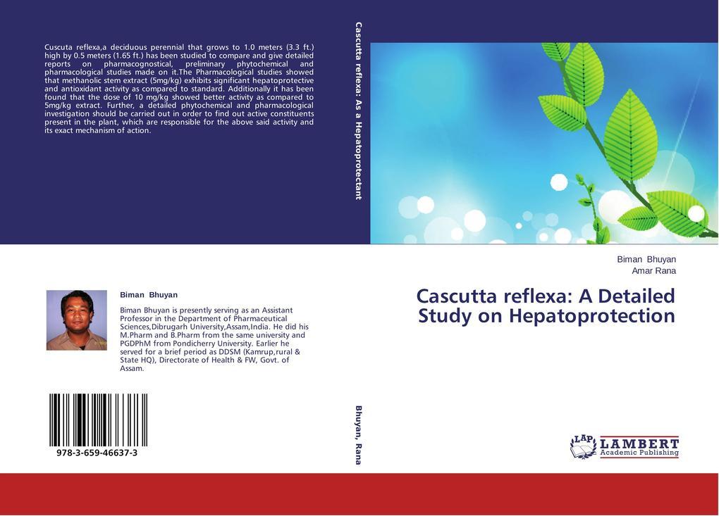 Cascutta reflexa: A Detailed Study on Hepatopro...