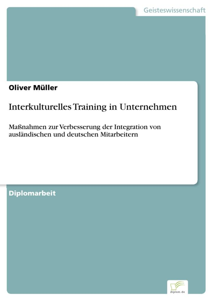 Interkulturelles Training in Unternehmen als eB...