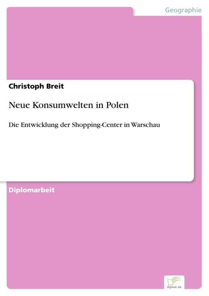 Neue Konsumwelten in Polen als eBook Download v...