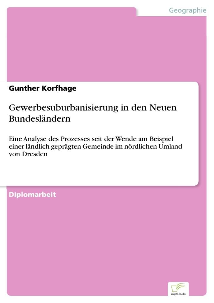 Gewerbesuburbanisierung in den Neuen Bundesländ...
