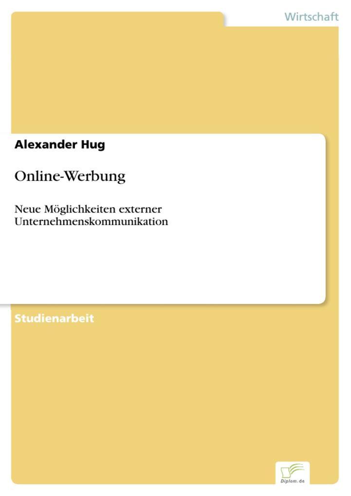 Online-Werbung als eBook Download von Alexander...