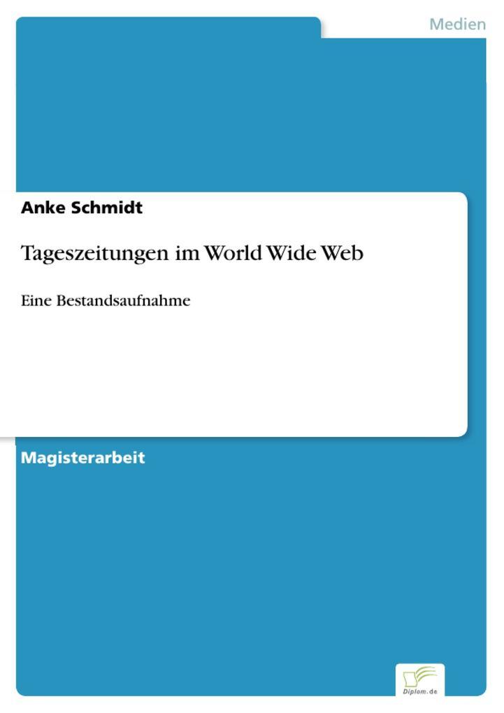 Tageszeitungen im World Wide Web als eBook Down...