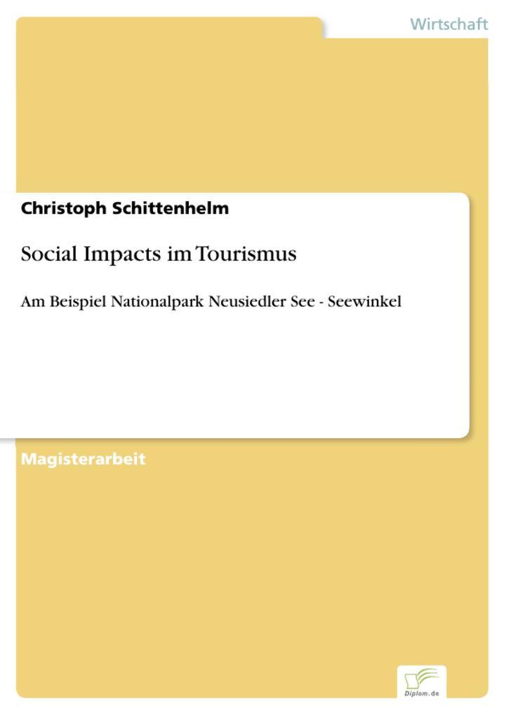 Social Impacts im Tourismus als eBook Download ...