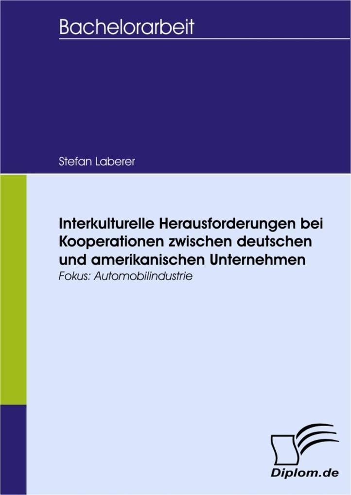 Interkulturelle Herausforderungen bei Kooperati...