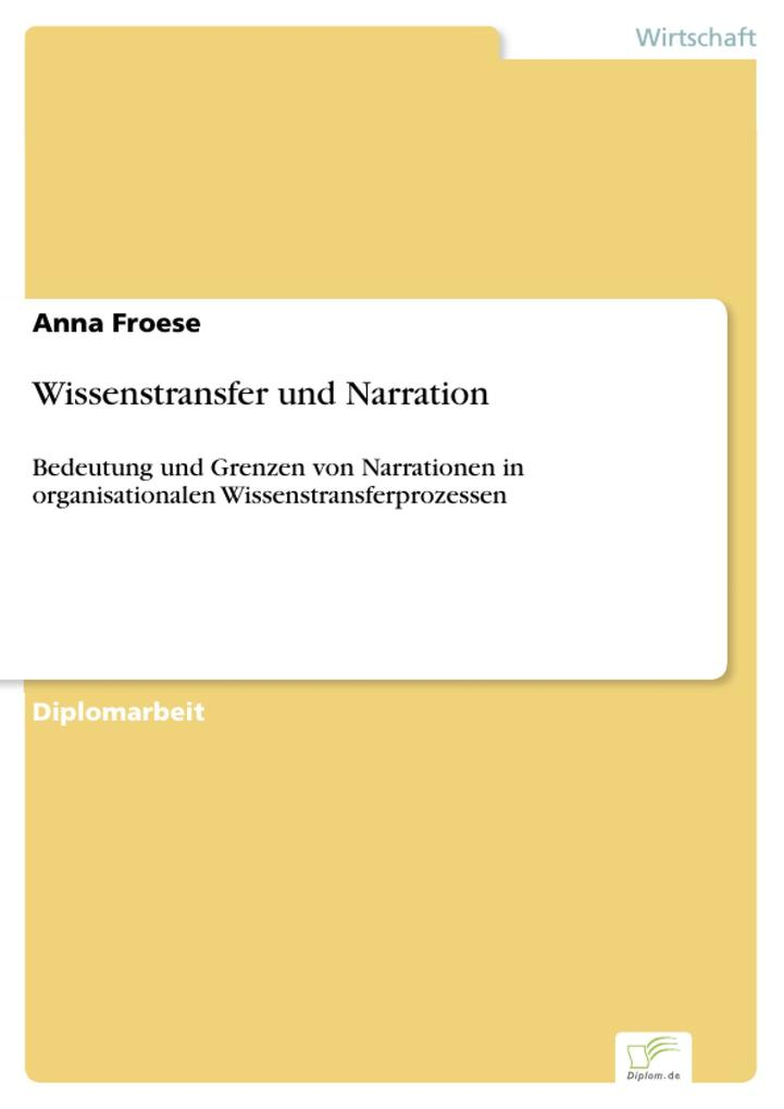 Wissenstransfer und Narration als eBook Downloa...