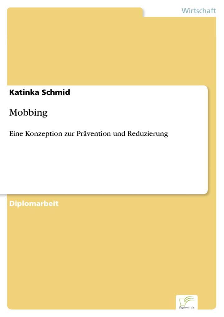 Mobbing als eBook Download von Katinka Schmid