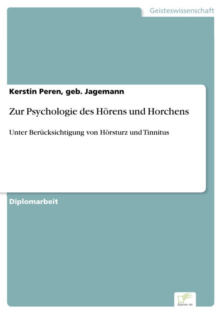 Zur Psychologie des Hörens und Horchens als eBo...