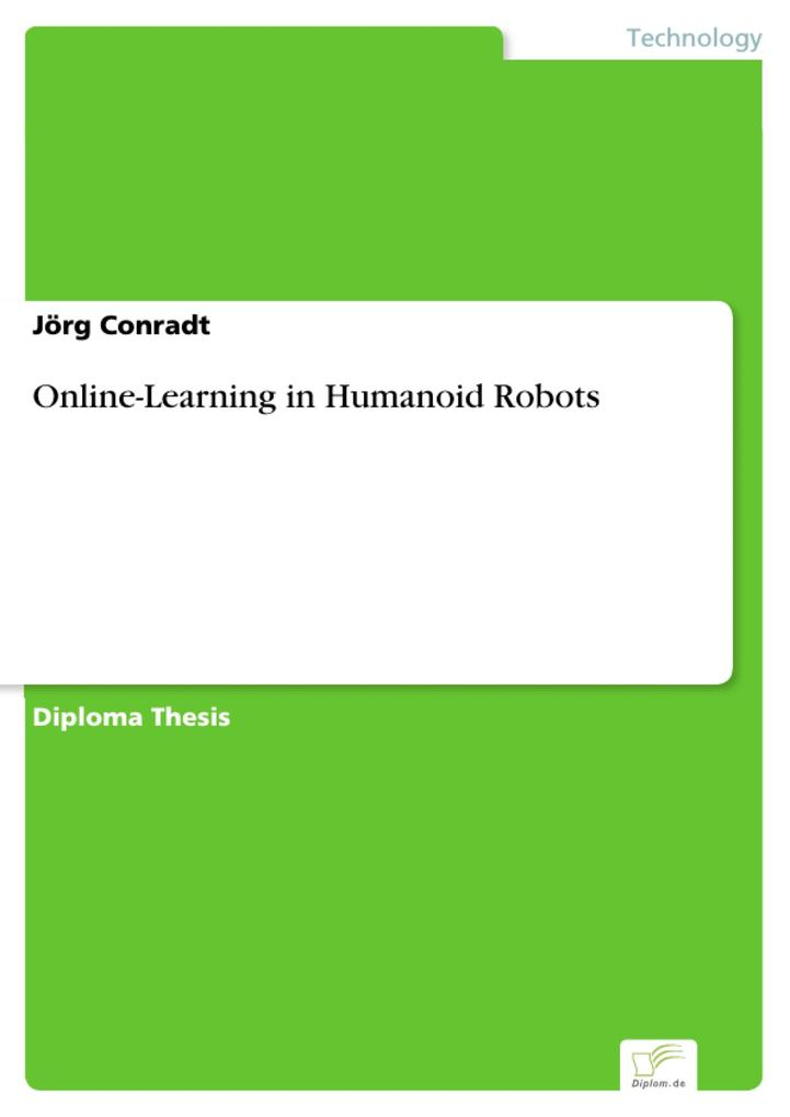 Online-Learning in Humanoid Robots als eBook Do...