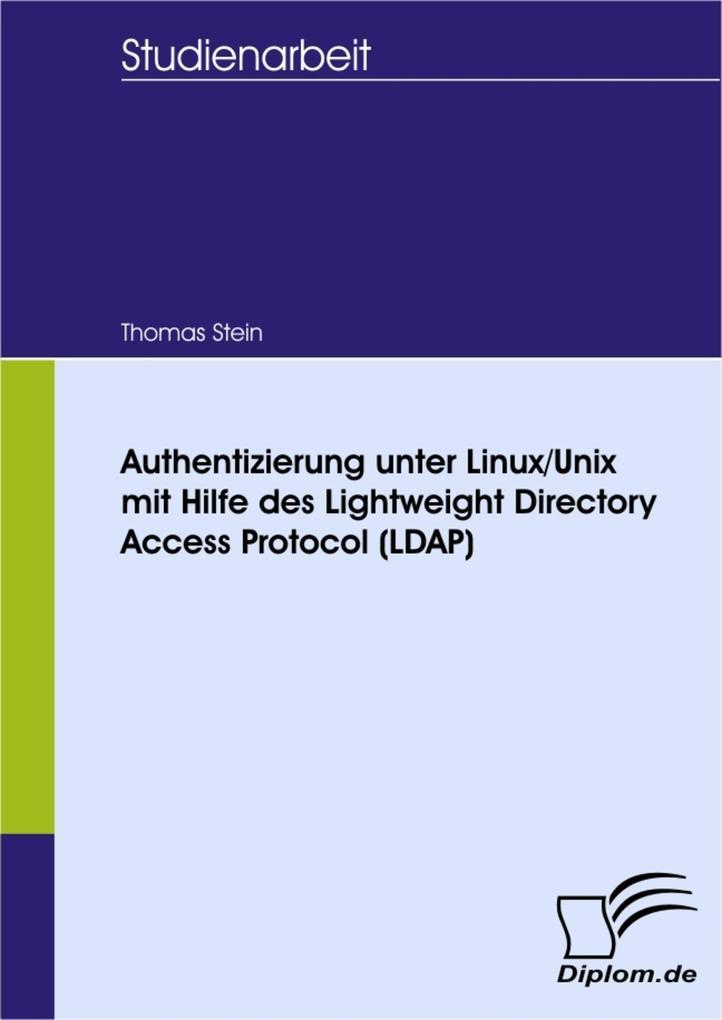 Authentizierung unter Linux/Unix mit Hilfe des ...