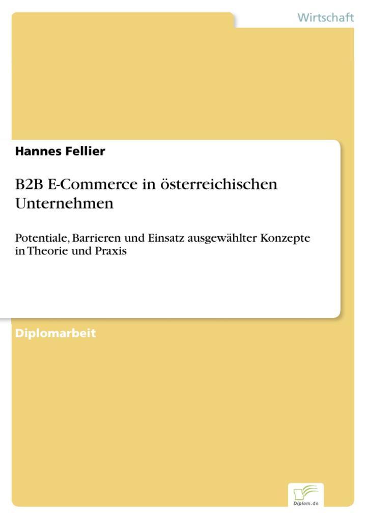 B2B E-Commerce in österreichischen Unternehmen ...