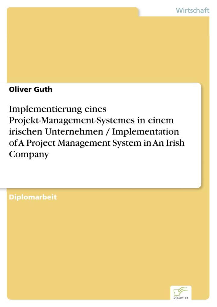 Implementierung eines Projekt-Management-System...