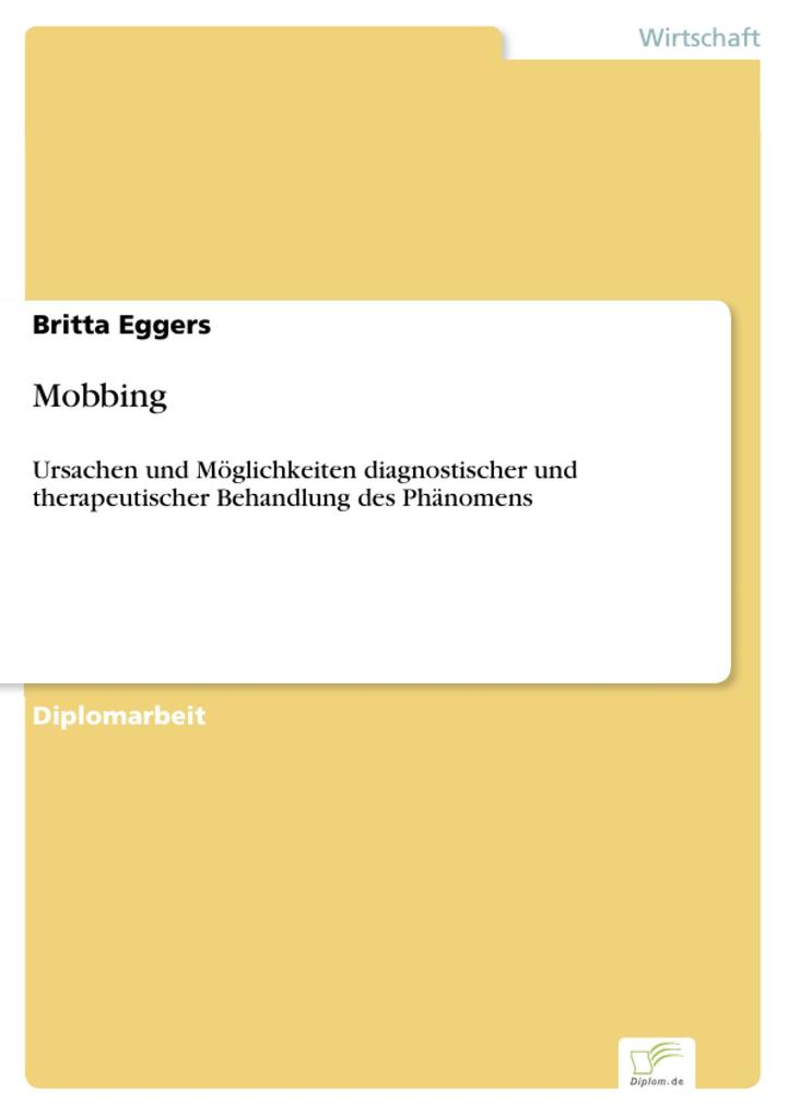 Mobbing als eBook Download von Britta Eggers