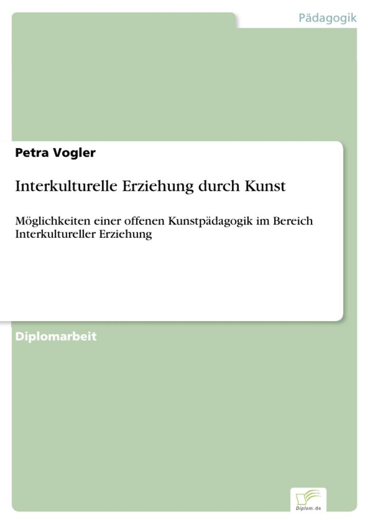 Interkulturelle Erziehung durch Kunst als eBook...