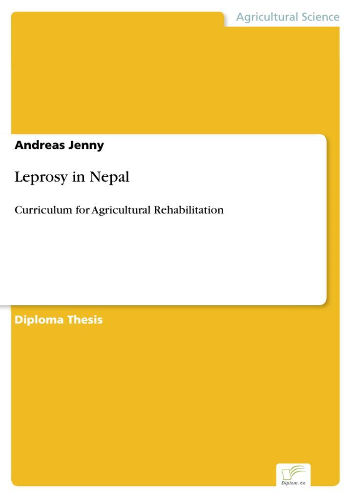 Leprosy in Nepal als eBook Download von Andreas...