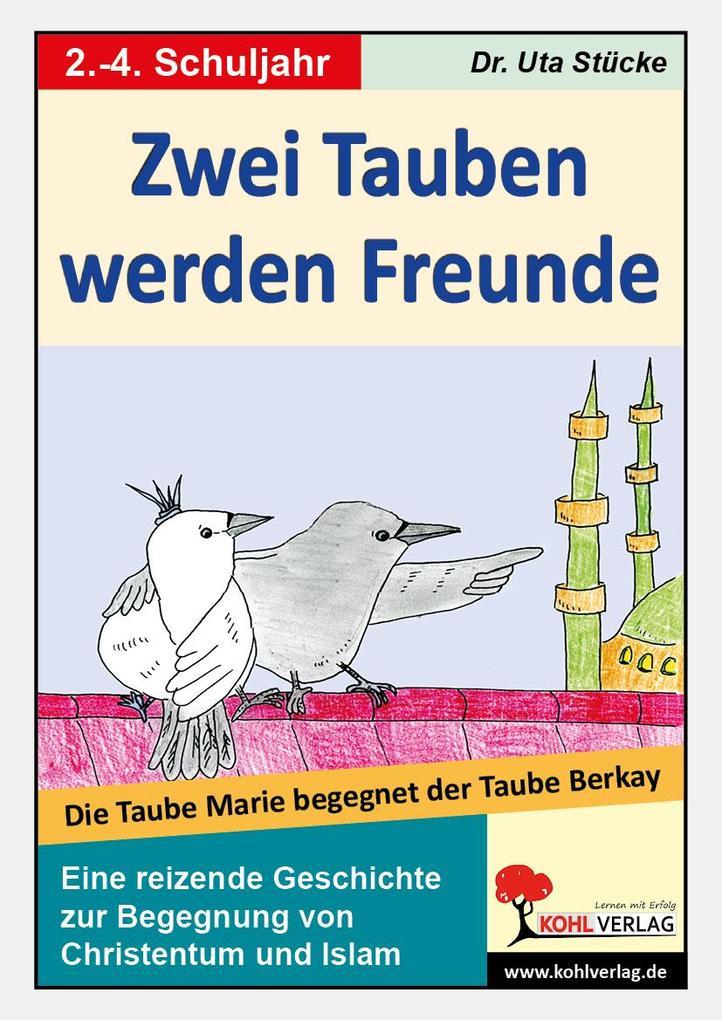 Zwei Tauben werden Freunde als eBook Download v...