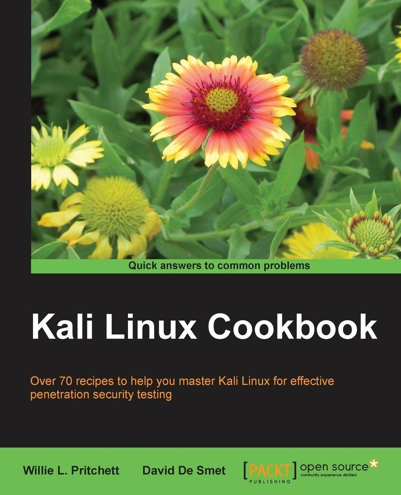 Kali Linux Cookbook als Buch von Willie Pritchett
