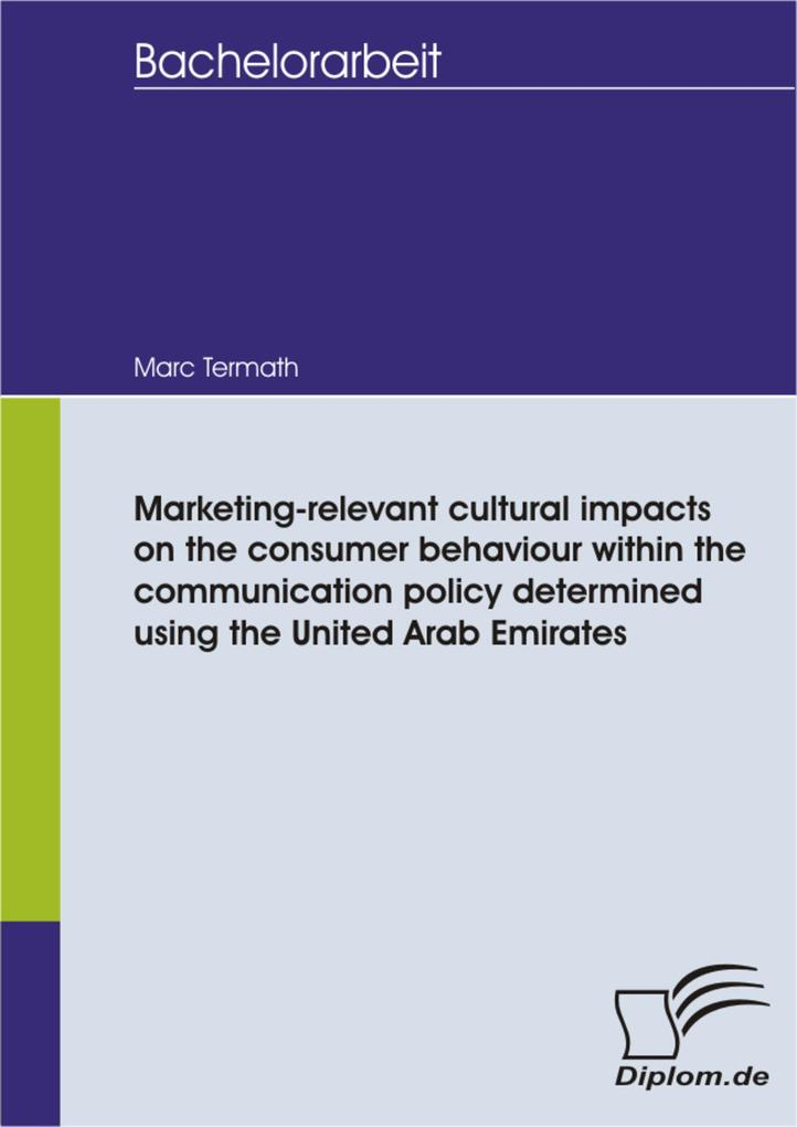 Marketing-relevant cultural impacts on the cons...