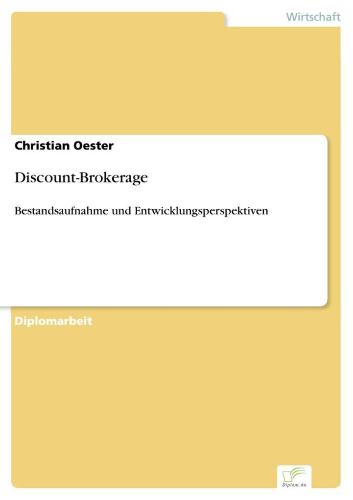 Discount-Brokerage als eBook Download von Chris...